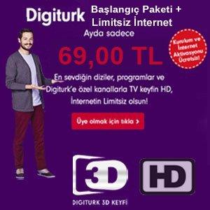 Digiturk İnternet Paketleri
