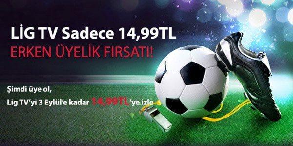 Lig TV Türksat Kampanyası