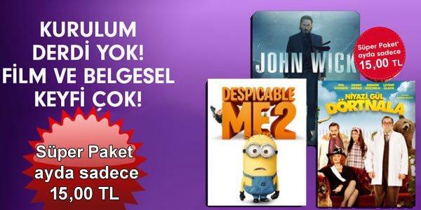 Türksat Süper Paket Kampanyası